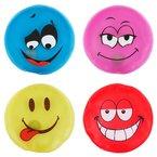 Taschenwärmer 4er Set Handwärmer Heizpad Firebag - Smileys in 4 trendigen Farben
