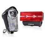 Fahrradlicht LED, ccbetter Wasserdicht Front und Rücklicht, StVZO Zulassung
