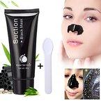 Mitesser Gesichtsmaske, LuckyFine 60g Blackheads Reinigungsmaske Mitesser Entferner Schwarz Gesichtsmaske (zufällig geschenk Maske-Löffel oder Pinsel)