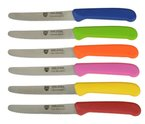 GRÄWE Tafelmesser Brötchenmesser 6 Stück bunt