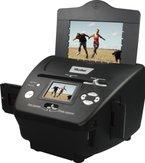 Rollei PDF-S 240 SE - Multiscanner für Fotos, Dias und Negative - einfache Handhabung, sekundenschneller Scanvorgang, inkl. Bildbearbeitungssoftware - Schwarz