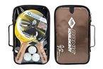 Donic-Schildkröt Premium Tischtennis Set PERSSON 500 2 Schläger 3 Bälle wertige Tasche, 788490