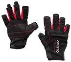 Musto Essential Sailing Short Finger Gloves BLACK AS0813 Sizes- - Medium