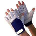 Navyline Segelhandschuhe Super Soft - 5 Finger geschnitten, Größe:XL