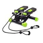 Fitkraft Twister FTKTSTEPSWI000 Swing Stepper Drehstepper Sidestepper mit Computer und Expande Schwarz