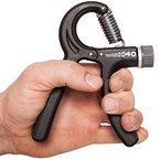 C.P. Sports Premium Fingertrainer - Federgriffhantel 10-40 kg verstellbar, Unterarmtrainer, Handtrainer