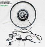 Umbausatz E-bike E bike 24V, 36V, 48V, 250W bis 800W Heckmotor 26Zoll Neuheit