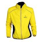Herren-Sportjacke, atmungsaktiv, Regenjacke, Rain Coat Cycle Bike Fahrrad- Kleidung, Frankreich Tour schnelltrocknend, winddicht, mit langen Ärmeln, Jersey für Radfahren Größe S-3X L XXL gelb