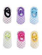 Baby 6 Paar rutschfeste Fußsocken Babysocken Schuhe für die Kinder von 8-36 Monat