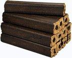 mumba - Probierset 3 x 10kg (insgesamt also 30kg) Eichenbriketts Pini&Kay, viereckig/rund mit Loch, Holzbriketts