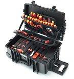 Wiha Werkzeugkoffer XXL Elektriker VDE, 115 teilig, 9300703
