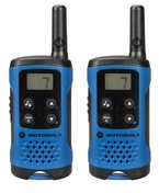 Motorola TLKR T41 PMR Funkgerät mit LC-Display blau