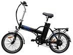 20 Zoll SWEMO Alu Klapp E-Bike / Pedelec SW100 Neu (Schwarz)