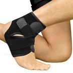 Bracoo Premium Fußbandage - Atmungsaktive Fußgelenkbandage mit Klettverschluss - optimaler Fußgelenkschutz beim Sport wie Volleyball, Fußball und Handball - Sprunggelenkbandage für Damen und Herren