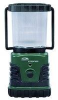 LiteXpress Camp 200 grün/schwarz, Camping-Laterne, 3 Hochleistungs-LED bis zu 300 Lumen, Kunststoffgehäuse