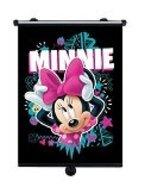 Minnie Mouse Rollo für das Auto, universal einsetzbar mit Haken und Saugnapf stabil, fröhliches Reisemotivonnoe ;pm
