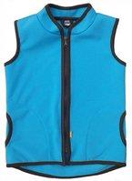 Kinder Softshell Weste WINDY mit leichter Fleece-Schicht innen, Wassersäule: 10.000 mm, Gr. 92 - 128, FARBAUSWAHL