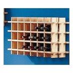 Modulares Weinregal System PRIMAVINO, für 24 Flaschen