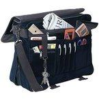 Super coole Umhängetasche Aktentasche Dokumententasche unglaublisch praktisch mit vielen taschen-das Platzwunder