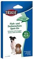 Trixie 25352 Floh- und Zeckenschutz Spot-On für kleine Hunde 4x1,5 ml