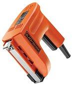 Black+Decker 1.500W Elektrotacker für Klammern und Nägel, Universalmagazin, 20 Schuß/min, regelbare Schußkraft KX418E