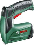 Bosch DIY Akku-Tacker PTK 3,6 LI, 1000 Klammern, Ladegerät, Metalldose (3,6 V, Klammern 4-10 mm, Schläge: 30 min-1)