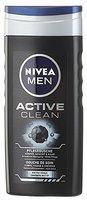 Nivea Men Pflegedusche Active Clean Duschgel, 6er Pack (6 x 250ml)