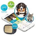 Kippy Vita - GPS und Activity Monitor für Hunde und Katzen - GPS hundehalsband Tracker - Black Guardian