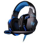 Rixow G2000 Pro Gaming Headset für PC Blau