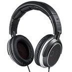 AudioMX Hi-Fi Kopfhörer Over-Ear Kopfhörer mit Zusätzlichen Kopfhörerkissen, 42 mm Hochauflösendem Treiber, Schwarz