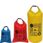 COX SWAIN 10+5+3 Liter Set Ultra leichte Pack-/Outdoor Säcke für Trekking-, Kanu-, Fahrradtouren etc