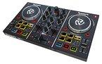 Numark Party Mix - DJ Controller mit Eingebauter Lichtshow und Soundkarte + Inklusive Virtual LE Software