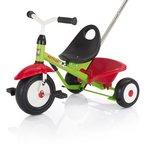 Kettler Funtrike Emma - das coole Dreirad mit Schiebestange für Kinder ab 2 Jahren - Farben: Grün und Rot - Artikelnummer: 0T03025-0000