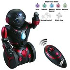 Ferngesteuerter Balance Spielzeug-Roboter für Kinder - Intelligenter, interaktiver RC-Roboter von ThinkGizmos (geschützte Marke) (Black & Red)
