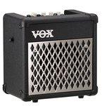 "VOX Mini5 Rhythm Gitarrencombo, 1x6,5"", 5W, Amp/FX Modeling, schwarz, Batteriebetrieb, integriertes Stimmgerät, 99 Rhythmen"