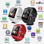 Smartwatch MaiDealz U8 Touch Screen Bluetooth 4.0 Handy Uhr Armband Pedometer Sport für Android Smartphones Samsung / HTC / Sony / Huawei ( Schwarz )