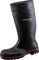 Dunlop Acifort ,Gummistiefel,Regenstiefel,Arbeitsstiefel,Freizeitstiefel (45, schwarz)