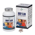Body Slim 180 Kapseln - Appetitzügler - Abnehmen mit Glucomannan und Acai - Erfolg Belegt - Abnehmpillen - Made in Germany - Appetithemmer - 1 Monatskur