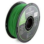 HATCHBOX ABS Filament für 3D Drucker - 1,75 mm grün 1 kg Spule - MakerBot RepRap MakerGear Ultimaker uvm.