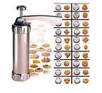 Edealing Kräcker Kekse-Presse-Maschine-Küche-Werkzeug-Kuchen, der Biskuit-Maschine Set