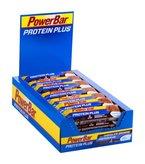 PowerBar Protein Plus Low Sugar, Chocolate-Brownie, 1 x 30 Stück (30 x 35g)
