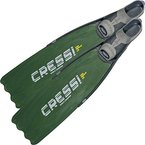 Cressi Langflossen Gara Modular LD, Grün, 42/43, BH109842