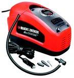Black + Decker Kompressor, 11 bar / 160 psi, digitale Druckeinstellung, Kabelfächer, beleuchtete Skala, ASI300