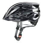 Uvex Fahrradhelm i-vo C, schwarz-Dark Silver, 56-60, 4104170917