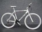 "28"" Alu RACING Speed Bike Fitnessbike SHIMANO 21 Gang CROSS Fahrrad white"