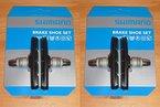 Shimano S70T 2 PAAR Bremsschuhe für Alu-Felgen 2014 grau Fahrradteile Fahrradbremsen Felgenbremsen & Zubehör