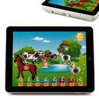 Kinder Tablet Pad Computer Lernspiel Lerncomputer in 4 Sprachen