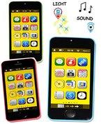 """1 Stück _ Handy / Smartphone - mit SOUND & Licht & Musik - """" bunte Farben """" - für Kinder / Jungen & Mädchen - Auto - Spielzeug Spielzeughandy / Spielzeugtelefon - Melody - Flip Top - elektrisches Kinderhandy - Telefon - Lernhandy / Kindertelefon - Babyhandy - Baby - Spielzeugsmartphone - Sound - Tablet"""