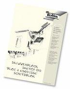 Folia 8304 - Skizzenblock, 120 g/m², DIN A4, 50 Blatt