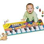 Sumbest Musical Musik Kind Klavier Spielen Baby Matte Tier Pädagogische Weich Kick Spielzeug Geschenk